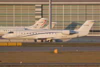 5A-UAD @ VIE - Private Canadair Regional Jet Challenger 850 - by Joker767