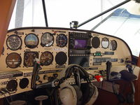 N209Z @ POC - The Maule's cockpit - by Helicopterfriend