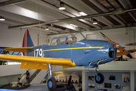 179 @ EKBI - Fairchild PT-26B Cornell (M-62A-4) at the Mobillium Museum, Billund, Denmark in 1994. - by Malcolm Clarke