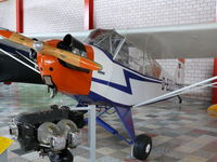 D-EDEW - Piper J3C-65 Cub D-EDEW in the Hermerskeil Museum Flugausstellung Junior - by Alex Smit
