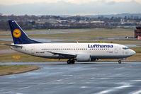D-ABXN @ EGBB - Lufthansa B737 at Birmingham UK