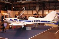 G-CSDR @ EGBB - Exhibited at the NEC Birmingham (UK) - 2009 ' The Flying Show '