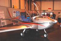 G-CGGM @ EGBB - Cosmik EV-97 Eurostar Exhibited at the NEC Birmingham (UK) - 2009 ' The Flying Show '