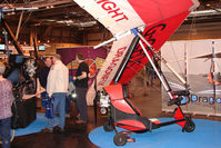 G-CFOS @ EGBB - Exhibited at the NEC Birmingham (UK) - 2009 ' The Flying Show '