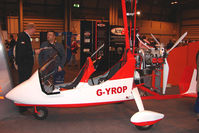 G-YROP @ EGBB - Exhibited at the NEC Birmingham (UK) - 2009 ' The Flying Show '