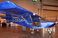 G-CEGK @ EGBB - Exhibited at the NEC Birmingham (UK) - 2009 ' The Flying Show '