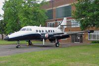 G-RAVL @ EGTC - Handley Page HP-137 Jetstream Series 200 at Cranfield University in 2004. - by Malcolm Clarke