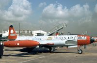 52-9655 @ KEFD - T-33A Shooting Star of 111th Fighter Interceptor Squadron/147th Fighter Interceptor Group Texas ANG seen at Ellington AFB in October 1978. - by Peter Nicholson