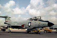 57-0370 @ KEFD - F-101B Voodoo of 111th Fighter Interceptor Squadron/147th Fighter Interceptor Group Texas ANG seen at Ellington AFB in October 1978. - by Peter Nicholson