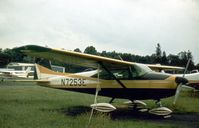 N7253E @ SPRING VAL - This Skylane was seen at Spring Valley Airport in the Summer of 1977 - the airport closed in 1985. - by Peter Nicholson
