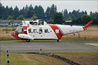 1447 @ 0WN4 - Old Coast Guard Helicopter on the ground - by jlboone