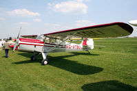 G-ATBU @ EGHP - seen @ Popham - by castle