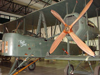 G-AWAU - exhibited in the RAF Museum Hendon , UK