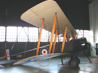 G-EBJE - exhibited in the RAF Museum Hendon , UK