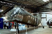 FR94 @ LFBY - Piasecki H-21C [FR94] Dax~F 23/09/2002. Seen in the museum coded BEJ.