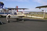 D-EGED @ EGLF - Gyroflug SC-01B-160 Speed Canard. A STOL development aircraft at SABC Farnborough 90. - by Malcolm Clarke