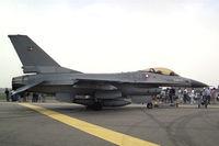 E-188 @ EGXE - General Dynamics F-16AM Fighting Falcon at RAF Leeming's Air Fair 1994 - by Malcolm Clarke