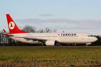 TC-JGV @ EGCC - Turkish Airlines - by Chris Hall
