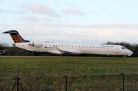 D-ACNG @ EGCC - Eurowings, CRJ-900 - by Chris Hall