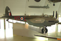 TJ138 - exhibited in the RAF Museum Hendon , UK