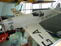 G-AEXF - A 2005 built replica is exhibited in the RAF Museum Hendon , UK