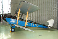 G-AAMX - exhibited in the RAF Museum Hendon , UK