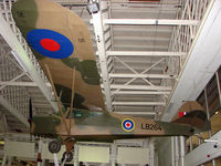 LB264 - exhibited in the RAF Museum Hendon , UK as LB264 - this aircraft is civil registration G-AIXA