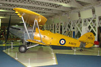 K4972 - exhibited in the RAF Museum Hendon , UK