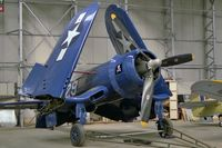 N8297 @ EGSU - Goodyear FG-1D Corsair at the Imperial War museum, Duxford. Became G-FGID on 1991-11-01 - by Malcolm Clarke
