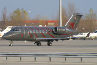 C-FLMK @ VIE - Chartright Air Bombardier CL600 Challenger - by Thomas Ramgraber-VAP