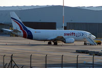 EC-KTZ @ EGNX - Swift Air B737 Freighter at East Midlands