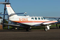 G-CRUZ @ EGTC - Cessna T303 at Cranfield