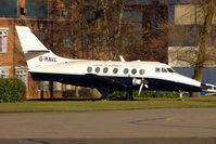 G-RAVL @ EGTC - Withdrawn Handley Page Jetstream at Cranfield College