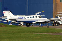 N666VK @ EGTC - Cessna 340a At Cranfield