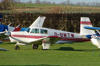 G-BWTW - Mooney M20C at Meppershall