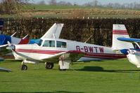 G-BWTW - Mooney M20C at Meppershall