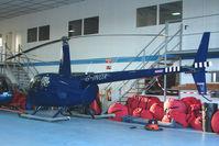 G-INDX @ EGTR - Robinson R44 at Elstree
