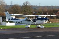 G-CGFH @ EGTR - Cessna Skylane at Elstree