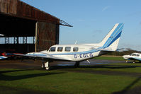 G-EGLG @ EGLG - Piper PA-31 , sporting the home Airport Code - EGLG as its registration