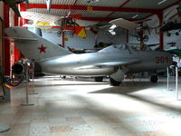 301 - Mikoyan Mig15UTI Midget 301/Red Sovjet Air Force in the Hermerskeil Museum - by Alex Smit