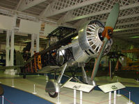 K6035 - Westland Wallace exhibited in the RAF Museum Hendon , UK