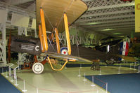 F1010 - De Haviland DH9A exhibited in the RAF Museum Hendon , UK