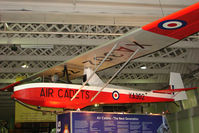 XA302 - Slingsby Cadet TX3 exhibited in the RAF Museum Hendon , UK