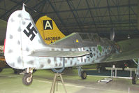 584219 - Focke Wulf FW190 exhibited in the RAF Museum Hendon , UK