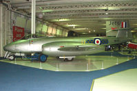 WH301 - Gloster Meteor F.8 exhibited in the RAF Museum Hendon , UK