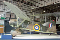 R9125 - 1942 Westland Lysander IIIA exhibited in the RAF Museum Hendon , UK