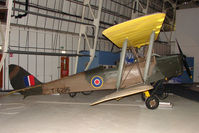 T6296 - De Haviland Tiger Moth, c/n: 84711 - exhibited in the RAF Museum Hendon , UK