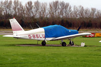 G-BSLU @ EGBS - seen @ Shobdon - by castle