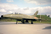 GT-927 @ EKBI - North American TF-100F Super Sabre. Ex USAF 56-3927 at Mobilium, the Danish Air Museum, Billund (now closed). - by Malcolm Clarke