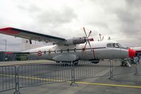83 @ EGXW - Nord N-262A at RAF Waddington in 1995. - by Malcolm Clarke